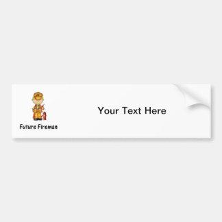future fireman (2) bumper sticker