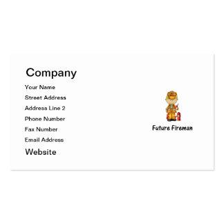 future fireman (2) business card template