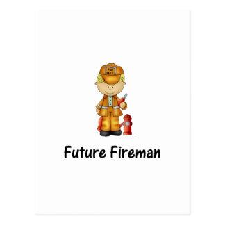 future fireman (2) postcard