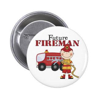 Future Fireman 2 Inch Round Button