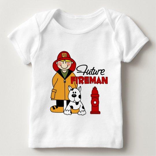 Future Fireman Firefighter Children's Gifts Baby T-Shirt