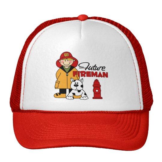 Future Fireman Firefighter s Gifts Trucker Hat