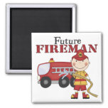 Future Fireman Fridge Magnet