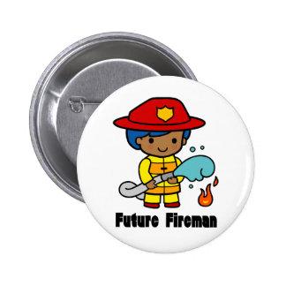 Future Fireman Pinback Button