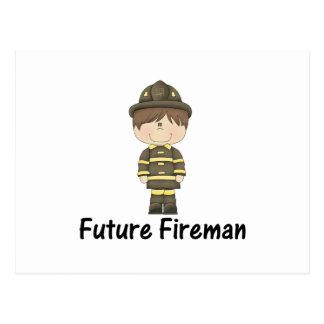 future fireman postcard