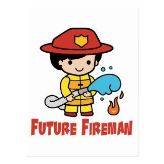 Future Fireman Postcards