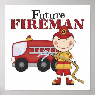 Future Fireman Poster