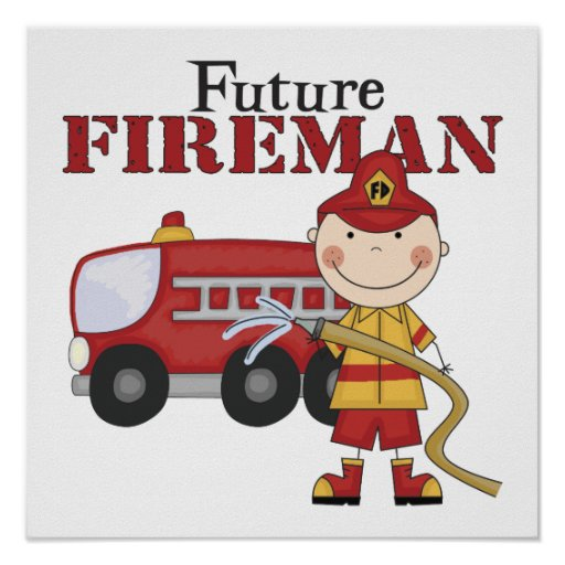 Future Fireman Print