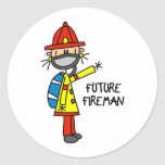 Future Fireman Stickers