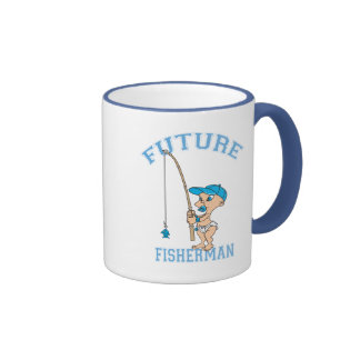 Future Fisherman Ringer Coffee Mug