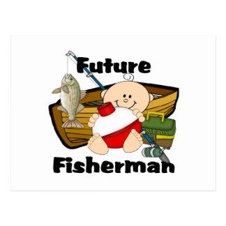 Future Fisherman Postcard