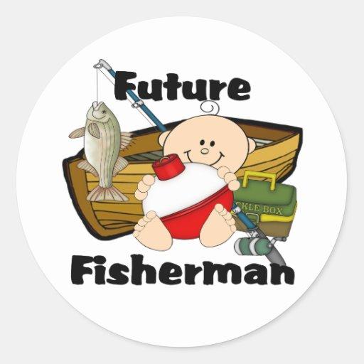 Future Fisherman Sticker