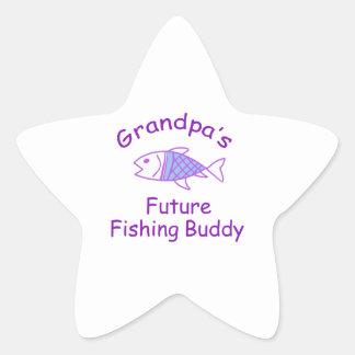 FUTURE FISHING BUDDY STAR STICKER