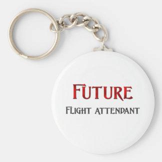 Future Flight Attendant Keychain