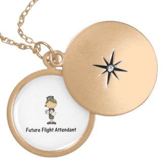 future flight attendant lockets
