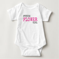 Future Flower Girl Wedding Baby Bodysuit