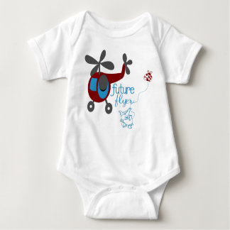 Future Flyer Baby Bodysuit