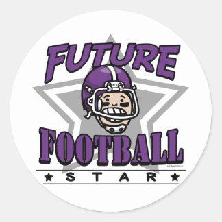 Future Football Star Stickers