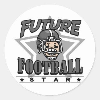 Future Football Star Sticker
