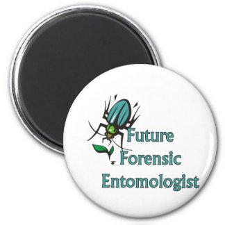 Future Forensic Entomologist 2 Inch Round Magnet