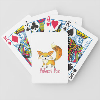 FUTURE FOX BICYCLE PLAYING CARDS