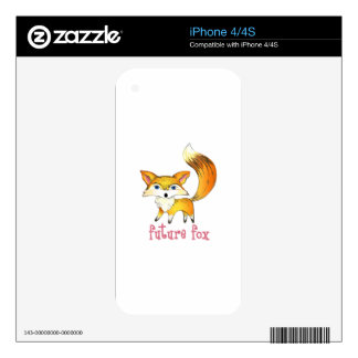 FUTURE FOX DECALS FOR THE iPhone 4