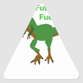 Future Fuel Triangle Sticker