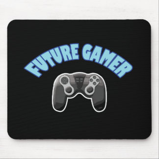 Future Gamer - Blue & Controller Mouse Pad