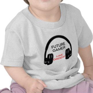 Future Gamer Like Daddy! T Shirt