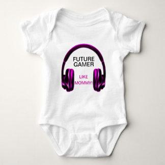 Future Gamer Like Mommy! Baby Bodysuit