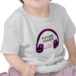 Future Gamer Like Mommy! Tee Shirt