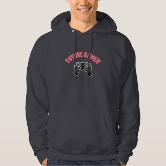 Future Gamer - Red & Controller Hoodie