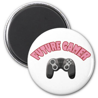 Future Gamer - Red & Controller Magnet
