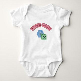 Future Gamer - Red & Dice Baby Bodysuit