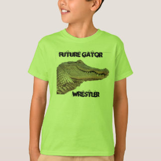 Future Gator Wrestler kids shirt