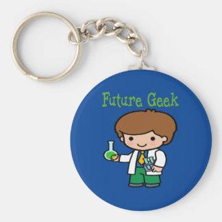 Future Geek Keychain
