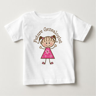 Future Genealogist Baby T-Shirt