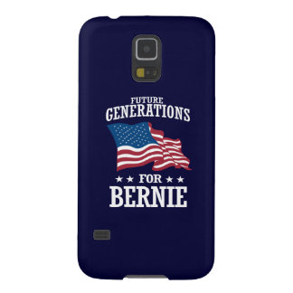 FUTURE GENERATIONS FOR BERNIE SANDERS GALAXY S5 CASES