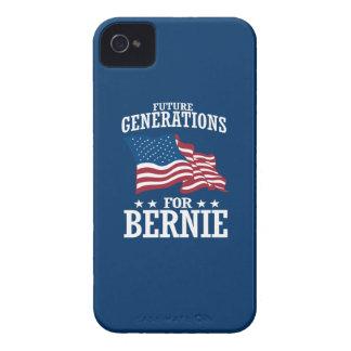 FUTURE GENERATIONS FOR BERNIE SANDERS iPhone 4 CASE