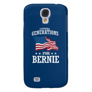 FUTURE GENERATIONS FOR BERNIE SANDERS SAMSUNG GALAXY S4 COVER