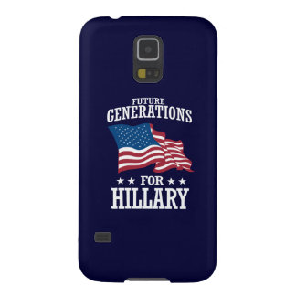 FUTURE GENERATIONS FOR HILLARY GALAXY S5 CASE