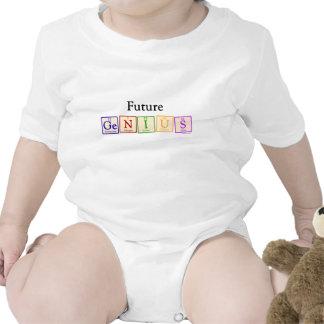 Future Genius Baby Baby Bodysuits