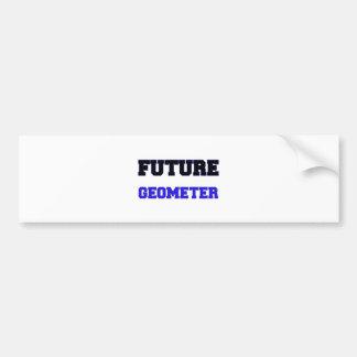 Future Geometer Car Bumper Sticker