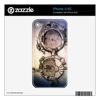 future glasses steampunk decal for the iPhone 4