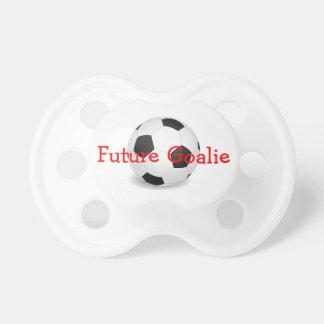 Future Goalie Soccer Pacifier