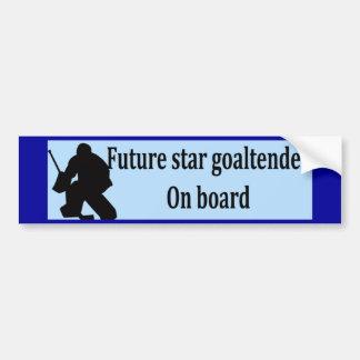 Future Goaltender Bumper Stickers