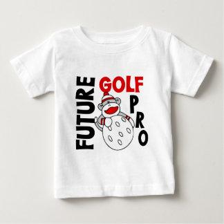 Future Golf Pro Sock Monkey Baby T-Shirt