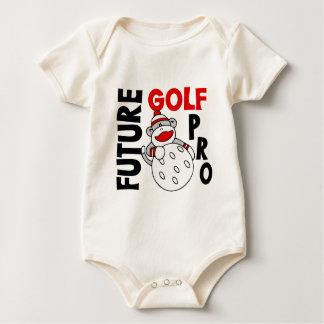 Future Golf Pro Sock Monkey Romper