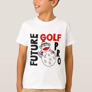 Future Golf Pro Sock Monkey T-Shirt