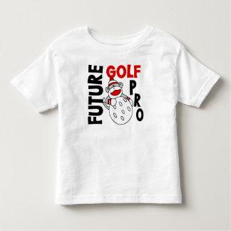 Future Golf Pro Sock Monkey Toddler T-shirt